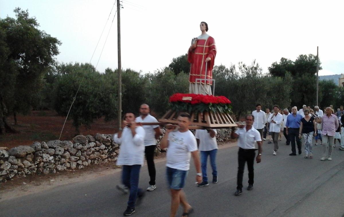 Il 9 e 10 agosto – Festa di San Lorenzo 2016